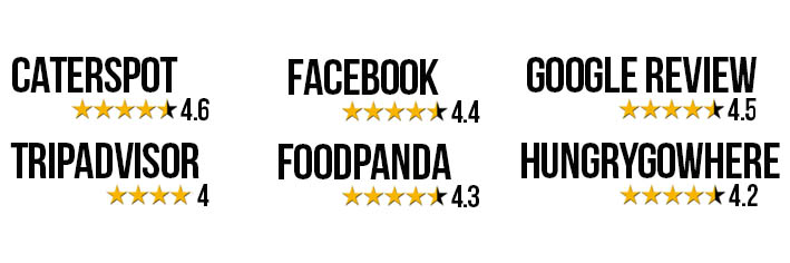 ratings on web horizontal